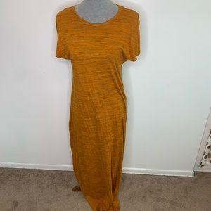 ⭐️3/$25⭐️ Lularoe Maria Pumpkin spice Maxi Dress